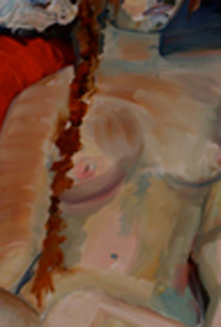 painting of nude